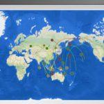 GNSS衛星 飛来予測の確認