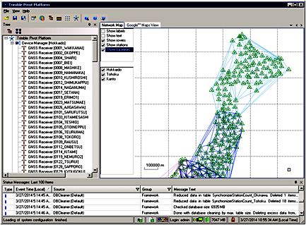 Pivotシステムの画面